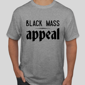 Black Mass Appeal logo tee