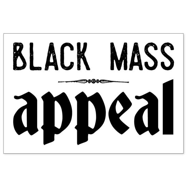 Black Mass Appeal sticker