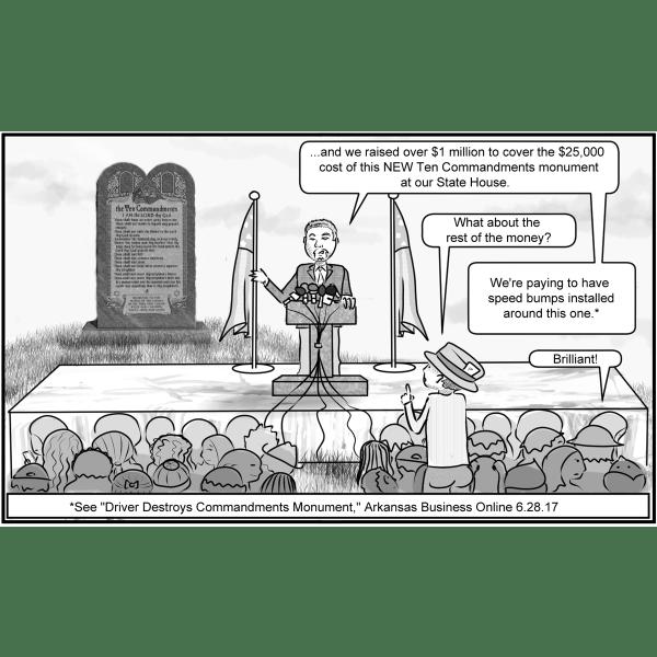 Satanic gospel tract - example panel 2