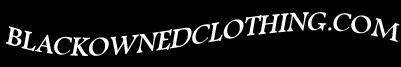 Black Owned Clothing Logo