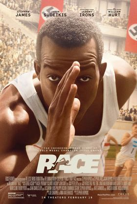 RACE:  Jesse Owens Biopic Released In Theaters This Month