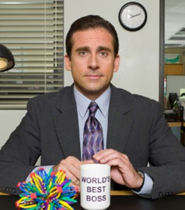 Steve Carell as Michael Scott on 'The Office.'