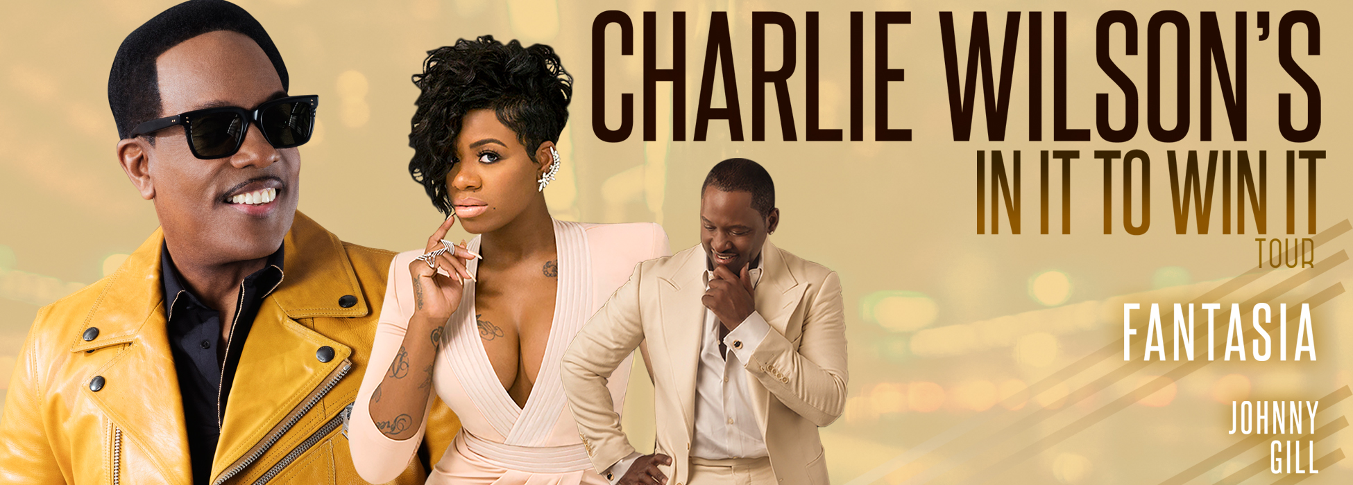 (March 2, 2017 – Los Angeles) – Charlie Wilson is definitely IN IT TO WIN  IT with both his current national arena tour and new hit album.