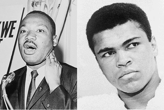 What MLK and Ali Might Say To The Black Athlete by Harold Bell