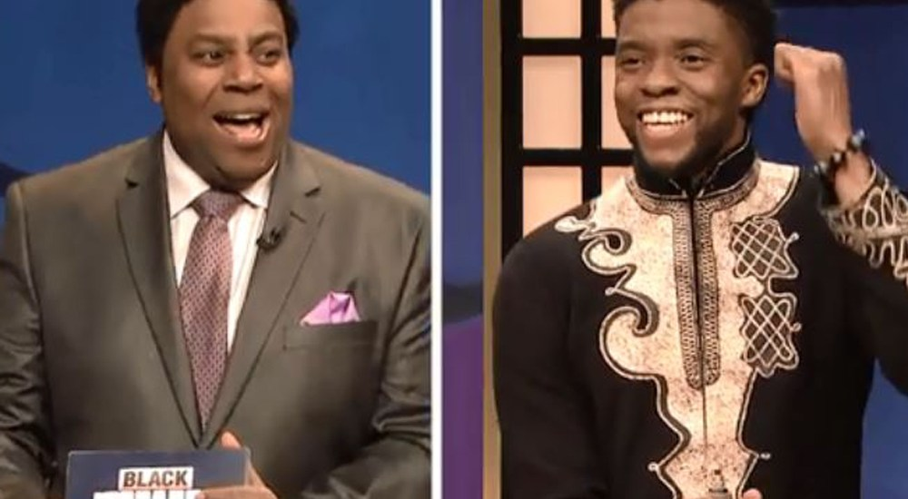 Comedy Spotlight:  Black Jeopardy with Chadwick Boseman – SNL
