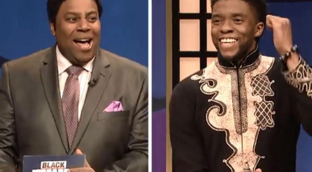Comedy Spotlight:  Black Jeopardy with Chadwick Boseman – SNL