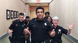Norfolk Police Department Lip Sync Video Goes Viral with over 30 Million Views