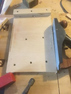 Shooting Board with Plane