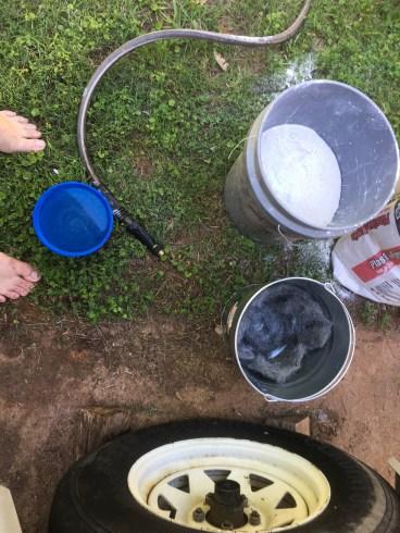 Ready to pour