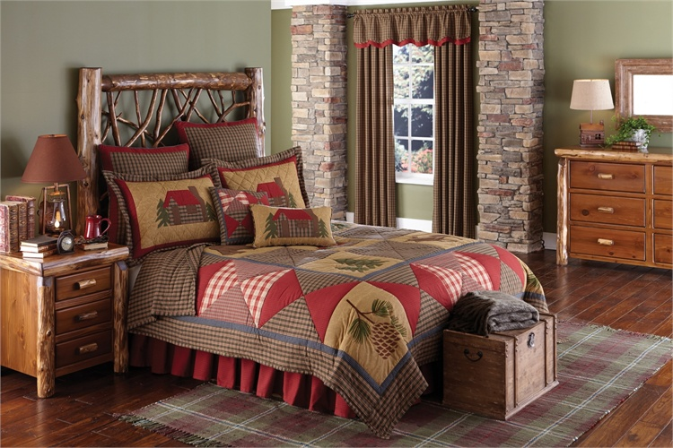 red kitchen accessories tile for cabin quilt - blackmountainquilts.net quilted bedding ...