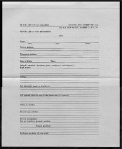 #12 May 1945 Vol. III, No. 6 Black Mountain College Bulletin. Courtesy of Western Regional Archives