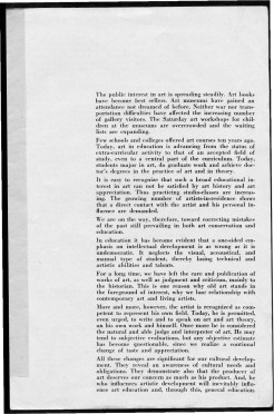 #3 May 1945 Vol. III, No. 6 Black Mountain College Bulletin. Courtesy of Western Regional Archives