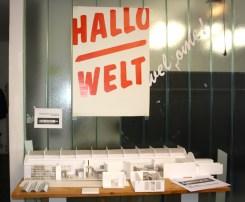 Architekturmodell für die Black-Mountain-Ausstellung im Hamburger Bahnhof - Museum für Gegenwart - Berlin im Büro von raumlaborberlin.