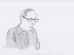 Dieter Lesage drawn by Nikolaus Baumgarten.