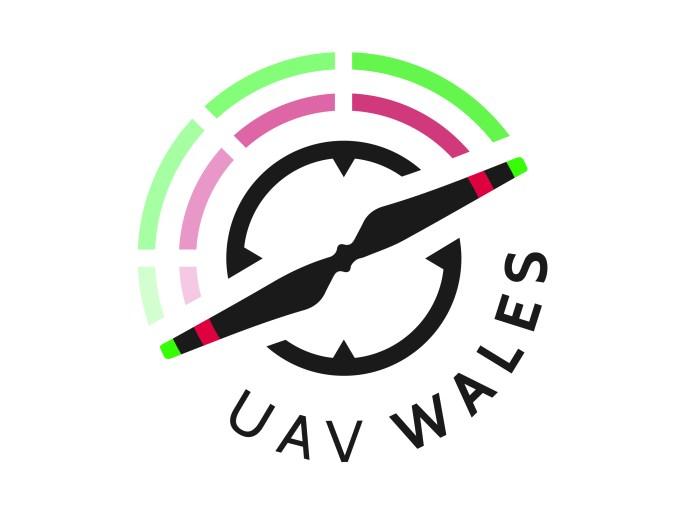 UAV Wales/CAD Cymru Logo