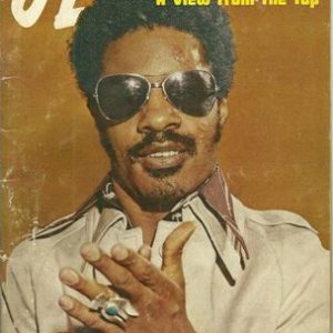 Stevie Wonder featured on the cover of Jet Magazine. May 1974.