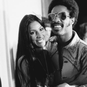 Stevie Wonder and Cher in the 1970s