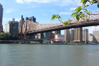 As seen from Roosevelt Island