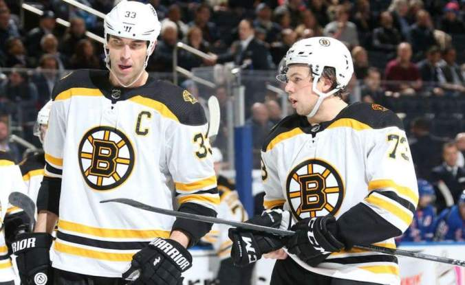 Chara:McAvoy - Getty Images