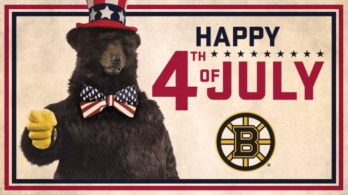 Bruins Fourth of July