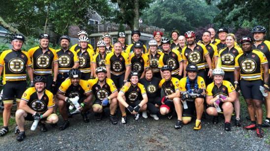 Bruins Pan Mass Challenge