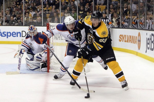 Brad Marchand vs. Oilers