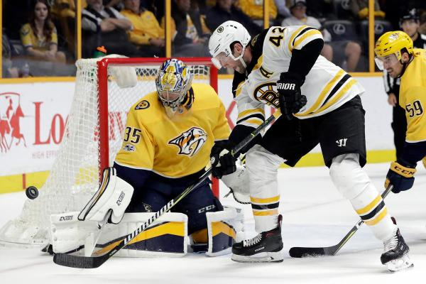 Pekka Rinne, David Backes