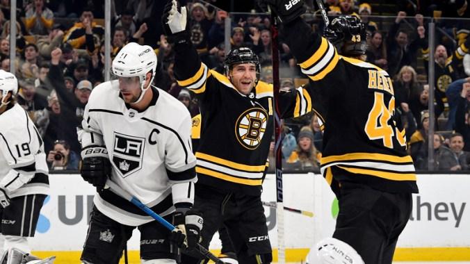 NHL: Los Angeles Kings at Boston Bruins