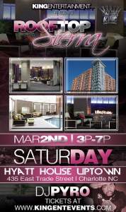 KING ENTERTAINMENT PRESENTS - Rooftop Sierra - SaturDAY​