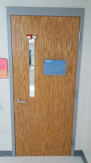 classroom door lockdown window shade l