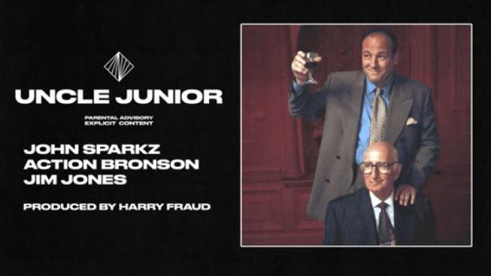 John Sparkz x Jim Jones x Action Bronson – Uncle Junior (Prod. Harry Fraud)