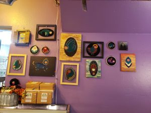 black-owned art local business Basking Dragons