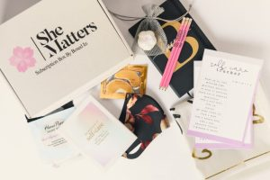 Black-owned business She Matters Subscription Box