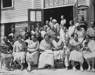 Saint James AME Church Helena Montana 1888 The