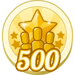 500 Treasure Points