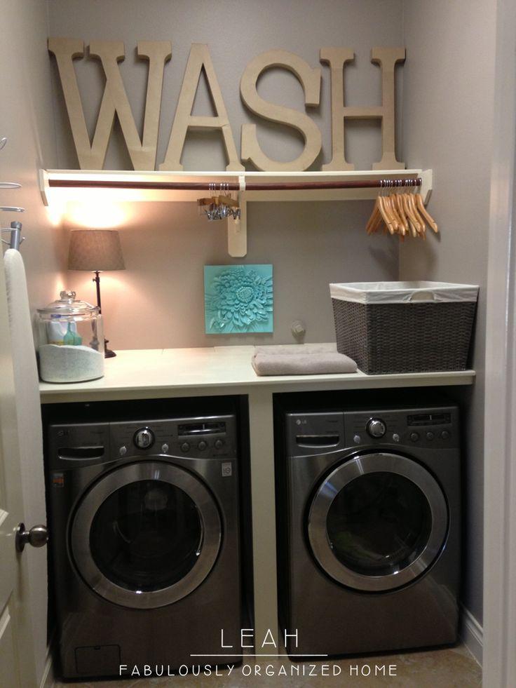 FOR THE HOME Laundry Room  Black Peplum