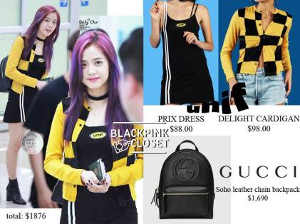 Blackpink-Jisoo-Airport-Fashion-7-August-2017