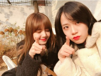 BLACKPINK Jisoo and Lisa Instagram
