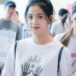 Blackpink Jisoo Airport Style on August 26, 2017