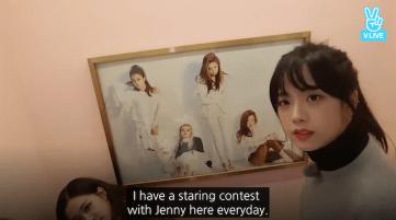 Blackpink Jisoo-Jennie Staring Contest