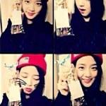 Blackpink Jisoo Knit Hat style