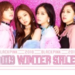 Blackpink Shibuya 109 Winter Sale Collaboration