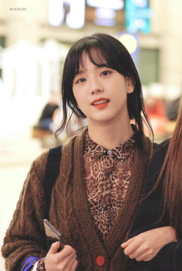 Blackpink Jisoo Airport photos