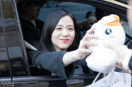Blackpink Jisoo Car Photos Inkigayo