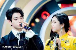 Blackpink Jisoo Jinyoung SBS Inkigayo
