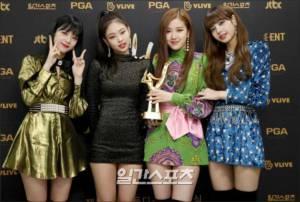 Blackpink Won Golden Disc awards 2018 Backstage