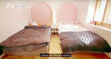 Blackpink-House-Jisoo-Rose-room
