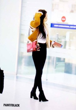 Blackpink Jennie Airport Fashion