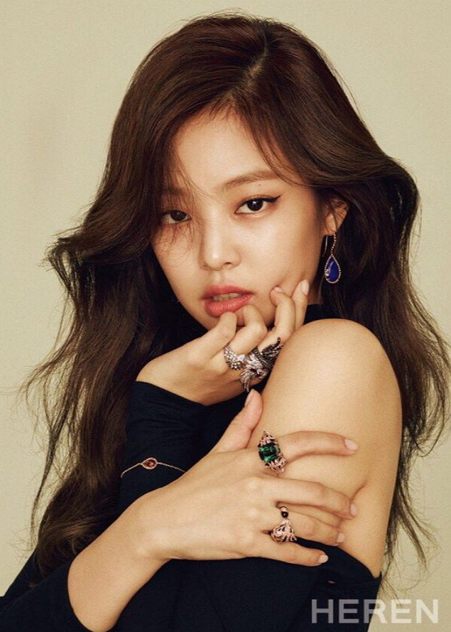 Blackpink Jennie Heren October 2017