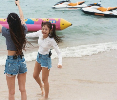 Blackpink Jennie Rose Koh Samui Thailand